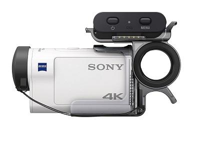 Der Sony FDR-X3000RFDI 4K Camcorder von Seite im Test