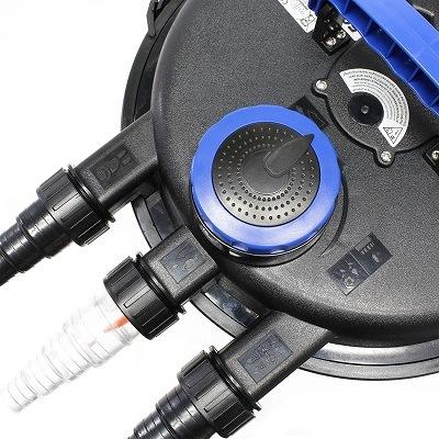 Sunsun CPF-250 Druckteichfilter Deckel Test