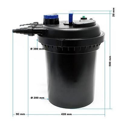 Sunsun CPF-250 Druckteichfilter im Test