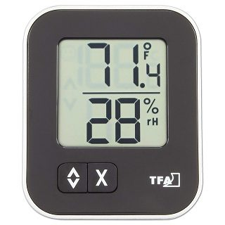 TFA 30.5026.01 Dostmann digitales Thermo-Hygrometer Moxx Test