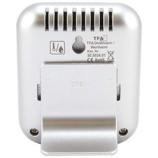 TFA 30.5026.01 Dostmann digitales Thermo-Hygrometer Moxx Wandmontage Test