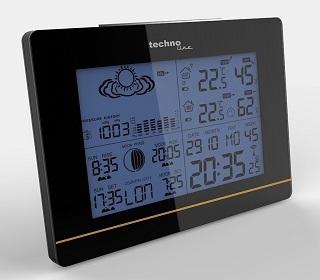 Display der Technoline WS 6750 Wetterstation im Test