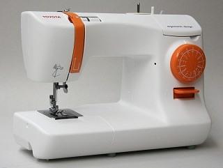 Die Toyota ECO15B Nähmaschine ist sehr sauber verarbeitet und hat ein wunderschönes Design Test