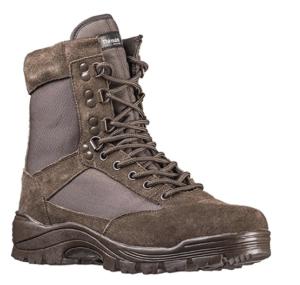 Trekkingschuhe Mil-Tec Tactical Boot mit YKK-Zipper