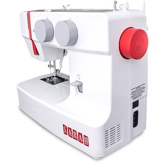 Die 1301 Sarah Nähmaschine hat sich sehr gut im Test gezeigt
