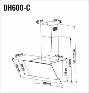 Die Dunstabzugshaube mit Energie-Effizienzklasse A von Viesta DH600C im Test und Vergleich bei Expertentesten