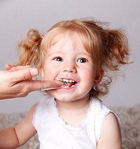 Zahnbürsten Zahnpflege, Tinabless Baby Kindermundpflege Weiche Fingerzahnbürste inkl. Aufbewahrungsbox für Zähneputzen und Zahnfleischmassage