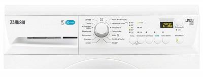 Programme der Zanussi ZWF71443W Waschmaschine im Test