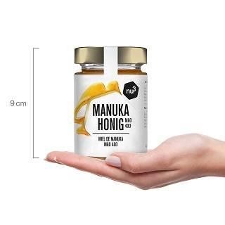 Größe von nu3 Manuka Honig im Test