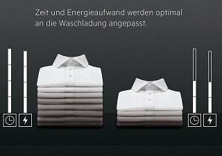 Die AEG Waschmaschinen der Serie 6000 erkennen jede Waschladung, um den Waschzyklus mit der richtigen Menge Wasser und dem erforderlichen Energieaufwand punktgenau einzustellen. Dies reduziert Verschleiß, Wasser- und Energieverbrauch und sorgt in minimaler Zeit für ein gründliches Waschergebnis Test