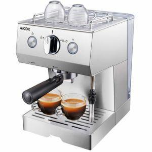 Die Espressomaschine mit Siebträger von AICOK 15 im Test
