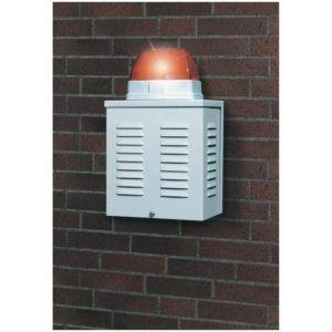 Outdoor Blitzlicht Alarmsirene von ABUS im Test