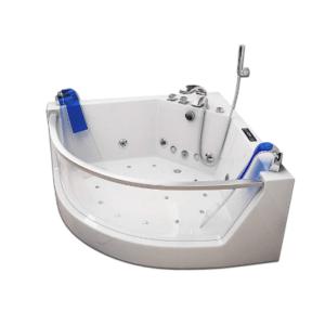 Welche Arten von Eckbadewanne gibt es in einem Test?