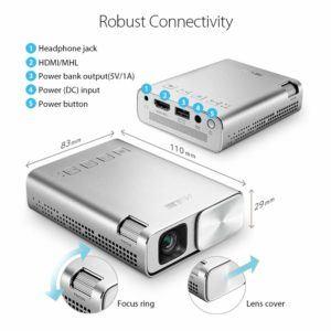 Der Asus E1 Zen Beamer mit HDMI Anschluss im Test und Vergleich