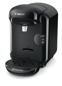 Bosch Tassimo Vivy 2 Nespresso Maschine in der Frontansicht