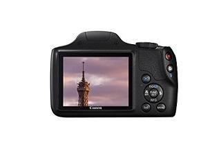 DIe PowerShot SX540 HS Spiegelreflexkamera hat ein tolles Display Test