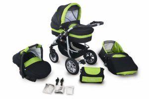 Die Belastbarkeit und die Federung im Kinderwagen 3-in-1 Test