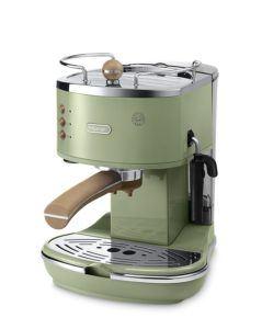 Grüne De'Longhi ECOV 311.GR Espressomaschine mit Siebträger Test