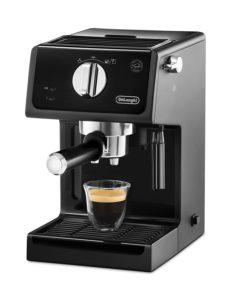 DeLonghi ECP 31.21 Espressomaschine mit Siebträger mit fertigem Espresso