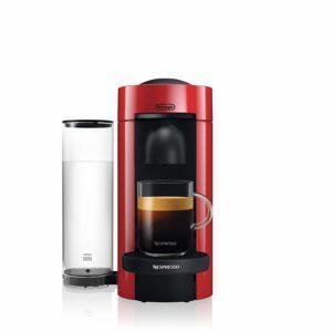De'Longhi ENV 150 R Nespresso Maschine von vorne