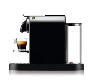De'Longhi Nespresso EN167.B Nespresso Maschinen in der Seitenansicht