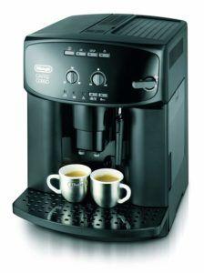 ESAM 2600 Espressomaschine mit Siebträger in der Frontansicht