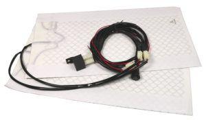 Electronicx Sitzheizung aus Carbon zum nachrüsten Universal 2x Heizmatten installieren