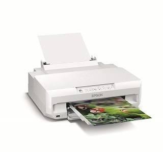 Der Xp55 Fotodrucker wird getestet