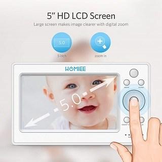 Das 2.0 Babyphone hat ein sehr großes Display Test