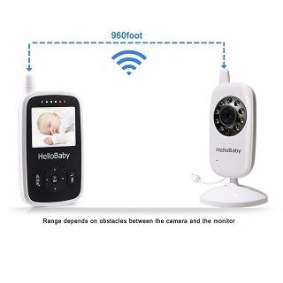 Das HB24 Babyphone hat eine sehr gute Verbindung Test