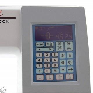 Die MC 8200 QCP Nähmaschine hat viele Funktionen im test gezeigt