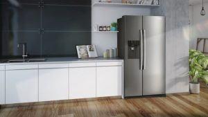 Das Design von einem Kühlschrank mit Gefrierfach Testsieger