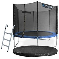 Kinetic Sports TPLS10-3 Gartentrampolin Test