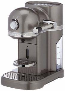 Kitchenaid 5KES0503EMS Nespresso Maschine von vorne