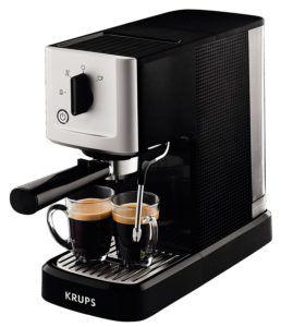 Schwarze Krups XP3440 Espressomaschine mit Siebträger Test