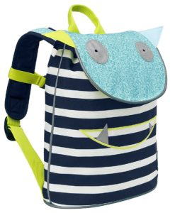 Lässig Mini Backpack Duffle Kinderrucksack Kindergartentasche,Navy Türkis