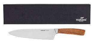Das Küchenmesser mit 20cm Klingen Länge von Makami Kona Chef im Test und Vergleich bei Expertentesten