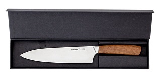 Das Küchenmesser mit palisanderholz Griff von Makami Kona Chef im Test und Vergleich bei Expertentesten