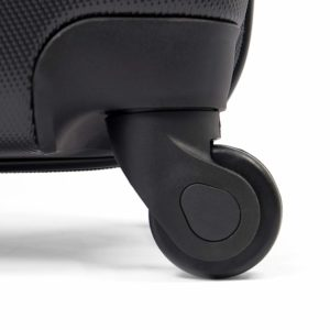 MasterGear Hartschalenkoffer Set aus ABS mit Reißverschluss und mit Rollen