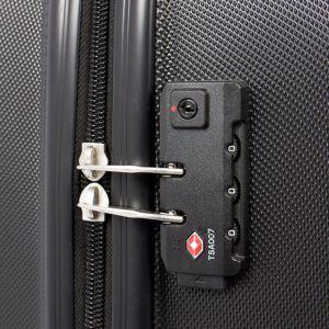 MasterGear Hartschalenkoffer Set mit Sicherung