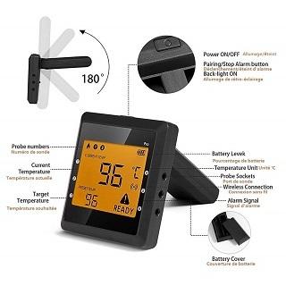 Der Grillthermometer mit Bluetooth von OUTAD Digital im Test und Vergleich bei Expertentesten