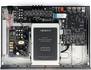 Innenleben des Oppo UDP-203 Blue-ray-Player im Test