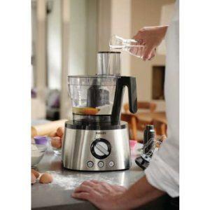 Philips HR777800 Küchenmaschine 1.300 Watt, inkl. Knethaken, Entsafter