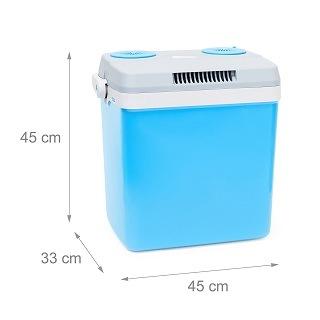 Maße von Relaxdays Kühlbox im Test