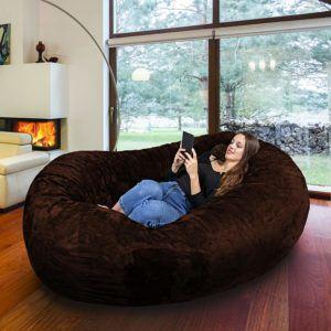 Riesiger Sitzsack als Couch im Test