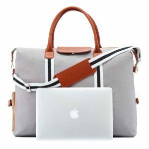 Saint Maniero Premium Reisetasche Weekender Laptopfach