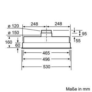 Die Dunstabzugshaube mit Energie-Effizienzklasse E von Siemens LB54564 iQ300 im Test und Vergleich bei Expertentesten