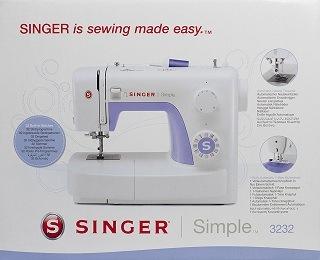 die Fuktionen der Nähmaschine Simple 3232 von Singer im Test