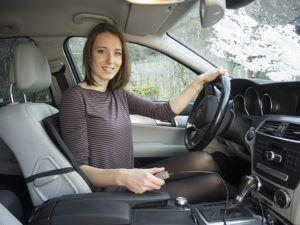Sitzheizung, beheizbare Sitz-Auflage 12V fürs Auto zum Nachrüsten, schnelle, angenehme Wärme