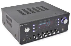 Skytronic AV-120FM Stereo HiFi Verstärker im Test von Expertentesten